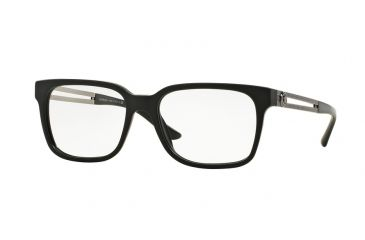 29284566fd3 Versace VE3218 Progressive Prescription Eyeglasses 5122-53 - Black Sand  Frame