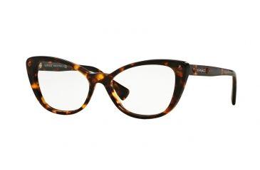 0aca7d24a198 Versace VE3222B Eyeglass Frames 5148-52 - Havana Frame