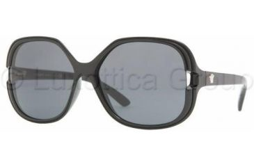 Versace VE4206 Sunglasses GB1/87-5814 - Black Gray