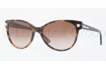 Versace VE4214 Sunglasses 944/13-5617 - Dark Havana Brown Gradient