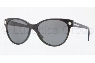 Versace VE4214 Sunglasses GB1/87-5617 - Shiny Black Gray