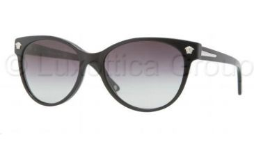 Versace VE4214 Sunglasses GB1/8G-5617 - Black Frame, Gray Gradient Lenses
