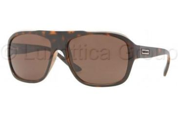 Versace VE4227 Single Vision Prescription Sunglasses VE4227-919-73-5916 - Lens Diameter 59 mm, Frame Color Havana