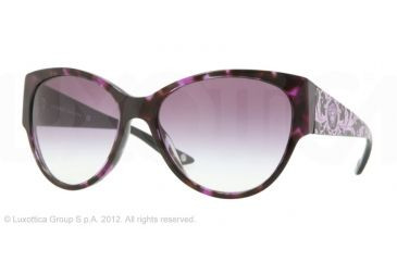 Versace VE4230 Single Vision Prescription Sunglasses VE4230-986-8H-60 - Lens Diameter 60 mm, Frame Color Violet Havana