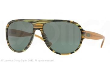 Versace VE4231 Single Vision Prescription Sunglasses VE4231-811-71-62 - Lens Diameter 62 mm, Frame Color Military Green