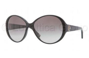 Versace VE4239 Sunglasses GB1/11-5815 - Black Frame, Gray Gradient Lenses