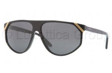 Versace VE4240 Sunglasses GB1/87-6113 - Black Frame, Gray Lenses