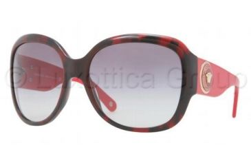 dc73eda0eab Versace VE4243 Sunglasses 983 11-6217 - Red Havana Frame