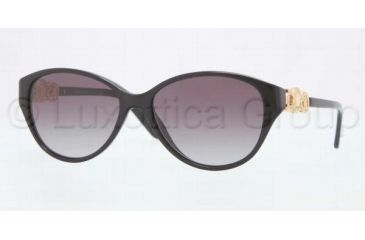 Versace VE4245 Sunglasses GB1/11-5315 - Black Frame, Gray Gradient Lenses