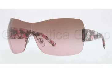 Versace VE4248 Sunglasses 502014-0137 - Silver Brown Frame, Gradient Pink Lenses