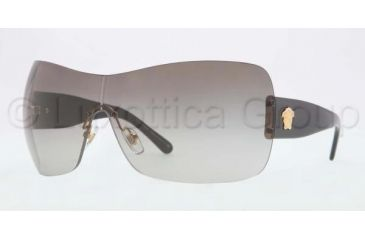 Versace VE4248 Sunglasses GB1/11-0137 - Gold Frame, Grey Gradient Lenses