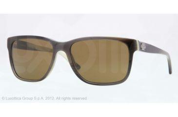 Versace VE4249 Single Vision Prescription Sunglasses VE4249-504873-58 - Lens Diameter 58 mm, Lens Diameter 58 mm, Frame Color Horn White/black/green