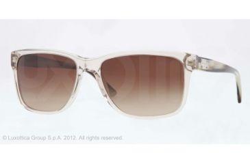 Versace VE4249 Single Vision Prescription Sunglasses VE4249-504913-58 - Lens Diameter 58 mm, Lens Diameter 58 mm, Frame Color Gray Transparent