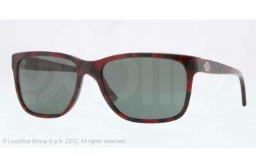 Versace VE4249 Single Vision Prescription Sunglasses VE4249-989-71-58 - Lens Diameter 58 mm, Lens Diameter 58 mm, Frame Color Red Havana