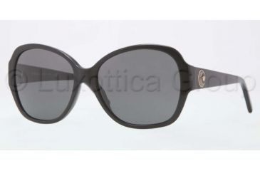 Versace VE4252 Sunglasses GB1/87-5716 - Black Frame, Gray Lenses