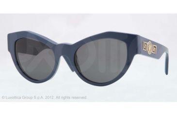Versace VE4253 Progressive Prescription Sunglasses VE4253-505387-53 - Lens Diameter 53 mm, Frame Color Blue