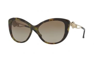 b64996e86c515 Versace VE4295 Sunglasses 518313-57 - Avana Military Frame