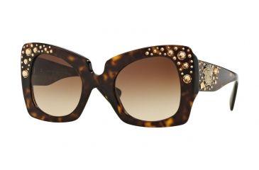 eb54ff74f95c Versace VE4308B Sunglasses 108 13-54 - Havana Frame