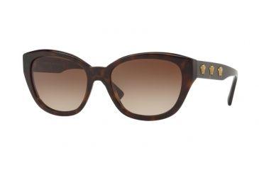 788050f1ea9a Versace VE4343A Sunglasses 108 13-56 - Havana Frame