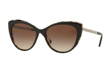 0ec3caffd3 Versace VE4348 Sunglasses 517713-57 - Black   Havana Frame