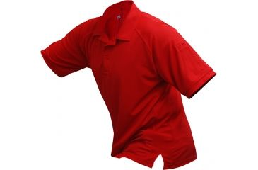 Vertx Men's Coldblack Short Sleeve Polo Shirt, Red, Size 2XL VTX4000RDP-2XL