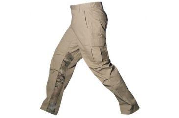 Vertx Mens Phantom Ops Tactical Pants w/ Airflow,65% Poly/35% Cotton,Desert Tan/MultiCam,30-30 VTX8620DTC-30-30