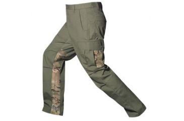 Vertx Mens Phantom Ops Tactical Pants w/ Airflow,65% Poly/35% Cotton,OD Green/MultiCam,30-30 VTX8620ODC-30-30