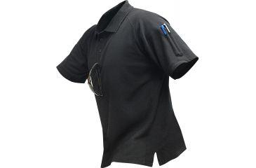 Vertx Men s All Cotton InnoDri Short Sleeve Polo Shirt VTX3000 ... 55f55768346