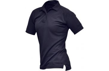 Vertx Women's Coldblack Short Sleeve Polo Shirt, Navy, Size Large VTX4010NVP-LARGE