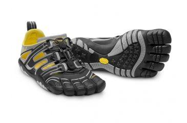 san francisco dd392 fa225 Vibram FiveFingers TrekSport Sandal - Men s-Grey Orange-45