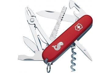 Victorinox Angler Swiss Army Knife Red 53671