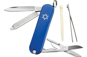 Victorinox Classic SD Star of David Swiss Army Knife Blue 54002
