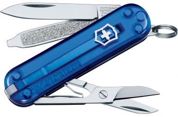 Victorinox Classic SD Translucent Swiss Army Knife Sapphire 54212