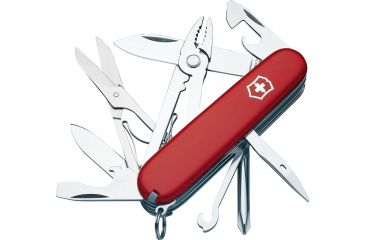 Victorinox Deluxe Tinker Swiss Army Knife Red 53481