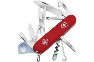 Victorinox Explorer Boy Scout Swiss Army Knife Red 55781