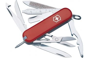 Victorinox MiniChamp Swiss Army Knife Red 53973