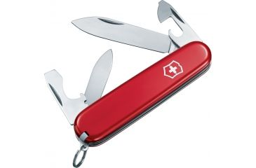 Victorinox Recruit Swiss Army Knife Red 53241