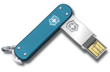 Victorinox Slim 2.0 - 32GB, Blue Alox 4.6171.22G32US2