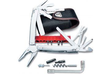 Victorinox SwissTool Spirit Plus Swiss Army Multi Tools with Nylon Pouch 53804