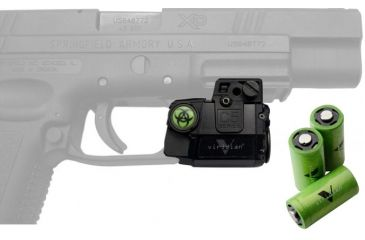 Viridian Zombie Edition Universal Subcompact Green Laser Sight w/ Tactical Light C5L-Z & Viridian CR2 3V Lithium Tactical Energy Battery VIR-CR2-3