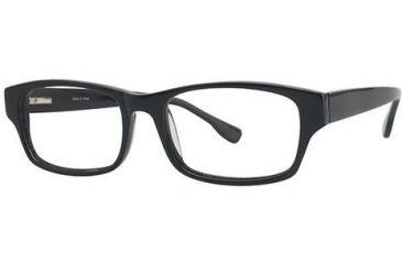 Visions 190 Bifocal Prescription Eyeglasses - Frame Black VIVISION19001