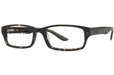 Visions 191 Bifocal Prescription Eyeglasses - Frame Dark Tortoise VIVISION19102