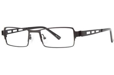 Visions 193 Bifocal Prescription Eyeglasses - Frame Black/Black, Size 50/18mm VIVISION19301