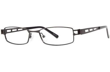 Visions 194 Progressive Prescription Eyeglasses - Frame Black/Pewter, Size 51/17mm VIVISION19401