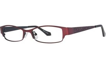 Visions 195 Progressive Prescription Eyeglasses - Frame Burgundy/ Black, Size 51/16mm VIVISION19502