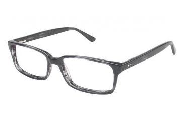 Visions 202 Bifocal Prescription Eyeglasses - Frame Grey Tortoise, Size 54/15mm VIVISION20203