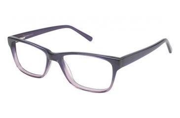 Visions 204 Bifocal Prescription Eyeglasses - Frame Eggplant Fade, Size 51/17mm VIVISION20403