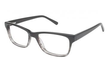 Visions 204 Bifocal Prescription Eyeglasses - Frame Grey Fade, Size 51/17mm VIVISION20401