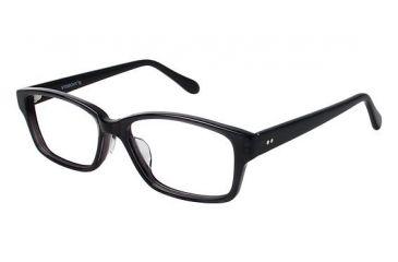 Visions 209A Eyeglass Frames - Frame Black, Size 54/14mm VIVISION209A01