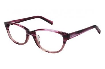 Visions 211A Single Vision Prescription Eyeglasses - Frame Pink Tortoise, Size 53/16mm VIVISION211A03